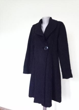 Стильное французское пальто шерсть