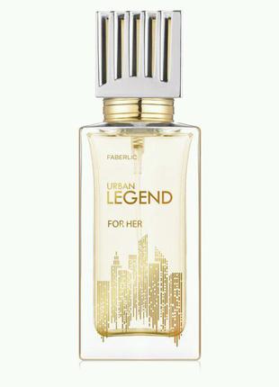 Парфюмерная вода для женщин Urban Legend