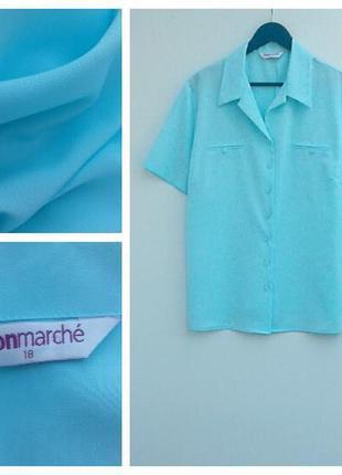 Красивая рубашка летняя рубашка большой размер