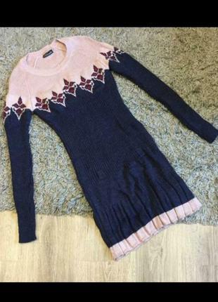 Стильне тепле плаття