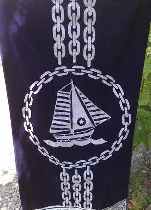 Полотенце морской тематики