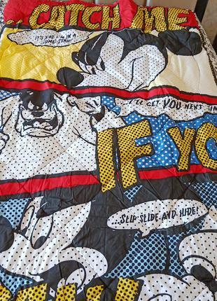 Одеяло - покрывало с микки маусом