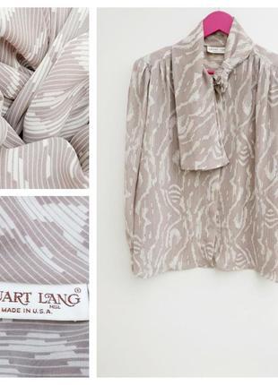 Винтажная рубашка оригинальная рубашка нюдова