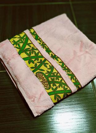 Бамбуковое полотенце банное