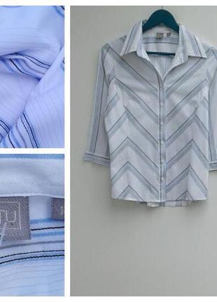 Рубашка в полоску от tu качественная рубашка