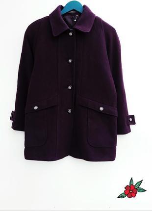 Шерстяное пальто бойфренд демимезонное красивое пальто шерстян...