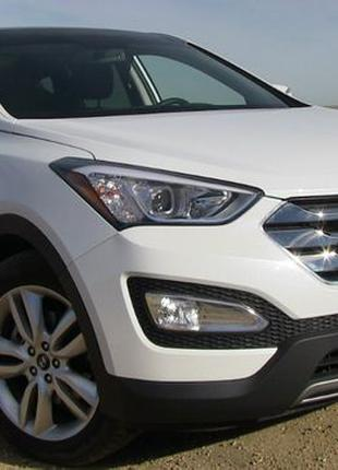 Hyundai Santa FE 2015 - 2018 запчасти кузов оптика охлаждения ...
