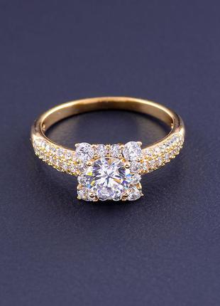 Кольцо 'xuping' фианит (позолота 18к) 0886950