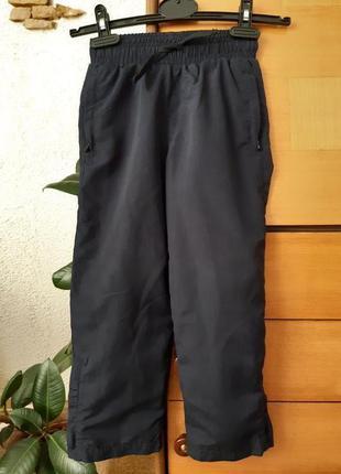 Детские спортивные штаны с подкладкой
