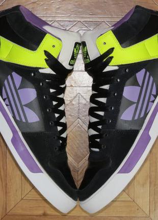 Кроссовки хайтопы adidas ledge st{оригинал}р.45.5