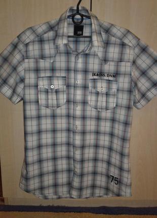 Мужская рубашка тенниска jack&jones, оригинал