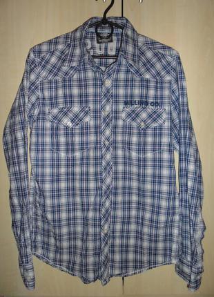 Мужская рубашка l.o.g.g. by h&m