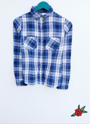 Крутая рубашка в клетку рубашка с натуральной ткани маленький ...