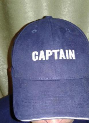 Бейсболка кепка captain