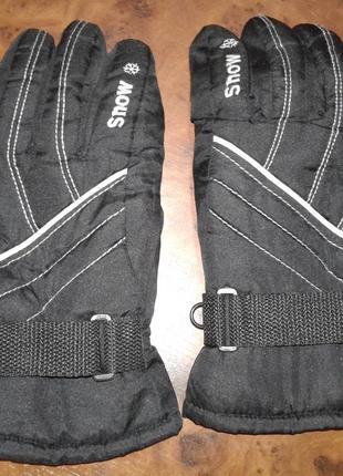 Перчатки горнолыжные snow