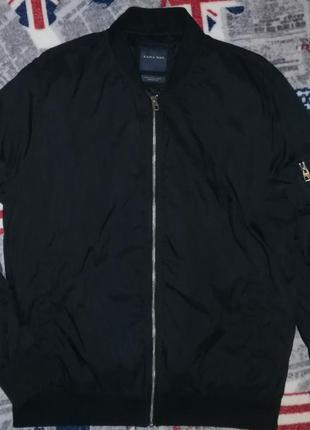 Куртка ветровка бомбер zara man