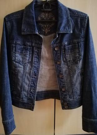Джинсовая куртка пиджак esprit