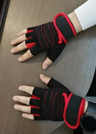 Спортивные перчатки для фитнеса, тренажерного зала, бодибилдинга