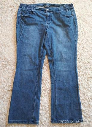 Отличные джинсы большого размера 56-58.