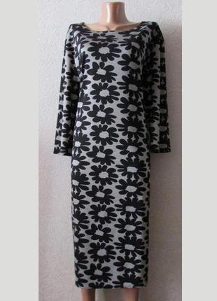 Красивое платье француз брукси, большой размер!