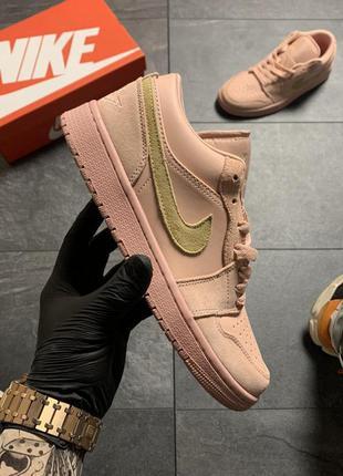 Nike air jordan 1 low coral sued.