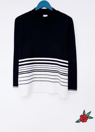 Теплый свитер с горлом шерстяной свитер кофта