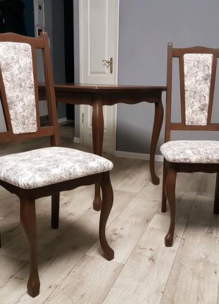 Стол стулья из дерева Комплект