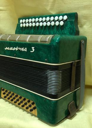 (3125) Идеальная Гармонь (Гармошка) Маричка 3 Тональность Ля Мажо