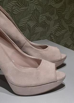 Mango женские туфли 36р замшевые