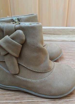 Ботиночки для девочки на весну, 21 размер