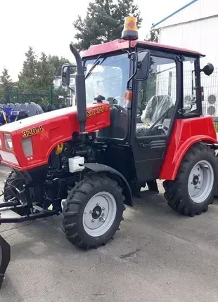 Трактор Беларус-320.4 машина прибиральна МУ-320