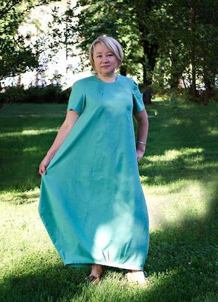 Платье лен-очень классное