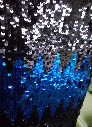 Платье--туника--пайетки оч. красивое