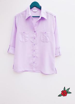 Красивая рубашка лаванда идеальная рубашка лавандового цвета