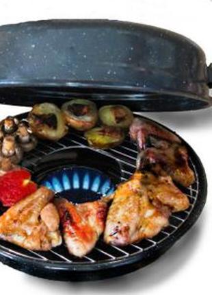 Противень сковорода гриль-газ