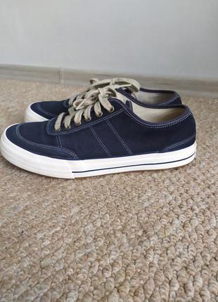 Мужские замшевые мокасины/кроссовки, кожаные слипоны 44 р