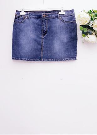 Юбка джинсовая короткая юбка джинс
