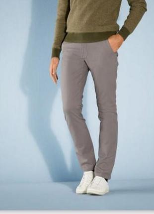 Шикарные мужские брюки штаны чиносы livergy германия