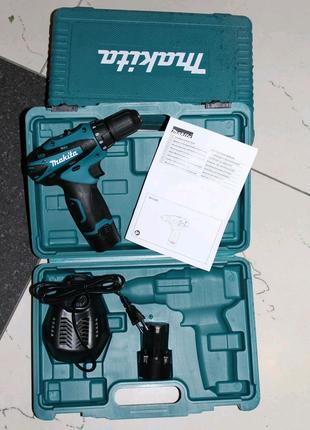 Аккумуляторный шуруповерт MAKITA DF 330 D ( Шуруповерт Макита) 12