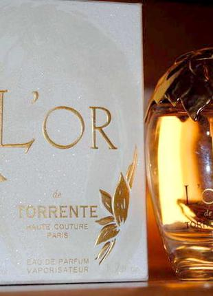 Torrente  L'Or de Torrente_Оригинал Eau de Parfum  10 мл