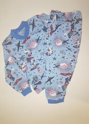 Легкая пижама для мальчика на 1-2 года