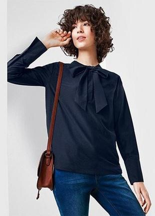 Шелк+хлопок! натуральная шелковая блуза с хлопком tcm tchibo