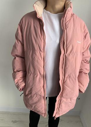 Тепла, дута куртка, зимова куртка, зимняя куртка.