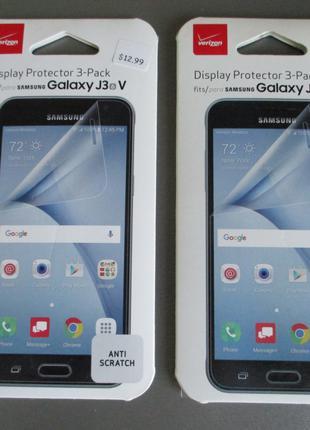 Фирменная Verizon защитная пленка для Samsung Galaxy J3 2016 J320