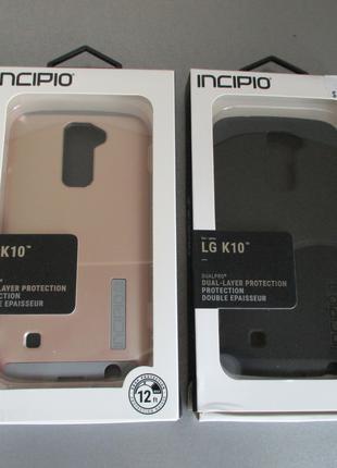 Фирменный чехол INCIPIO DualPro для LG K10 K410 K420 K425 K430