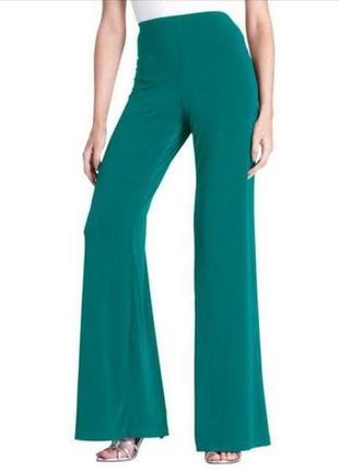 Стрейчевые брюки палаццо 20/54-56 размера