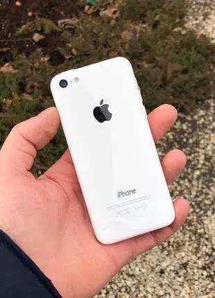 Apple IPhone 5c 16Gb White БУ с Гарантией/Оригинал.