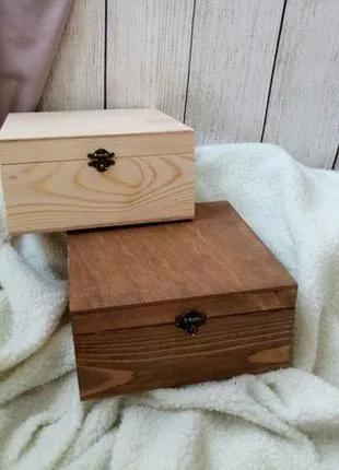 Деревянный декоративный бокс, ящик,шкатулка,коробка для подарка,д
