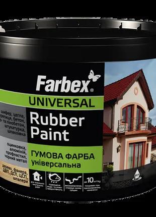 Резиновая фасадная краска