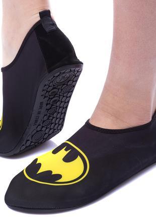 Обувь Skin Shoes для спорта, йоги, бассейна BATMAN (PL-1813)